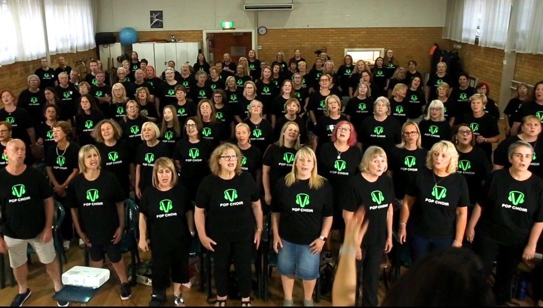 Be a part of a Pop Choir Production!